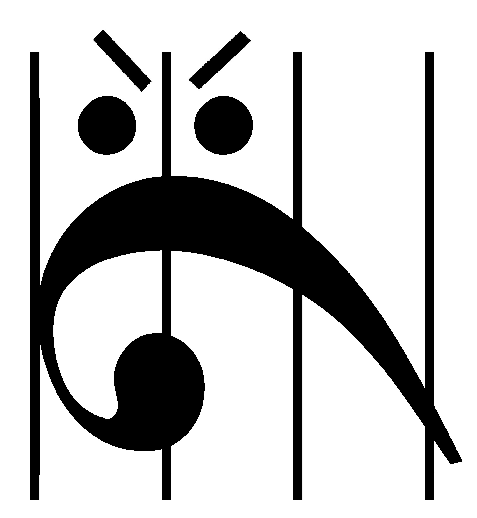 Angry Bass Clef