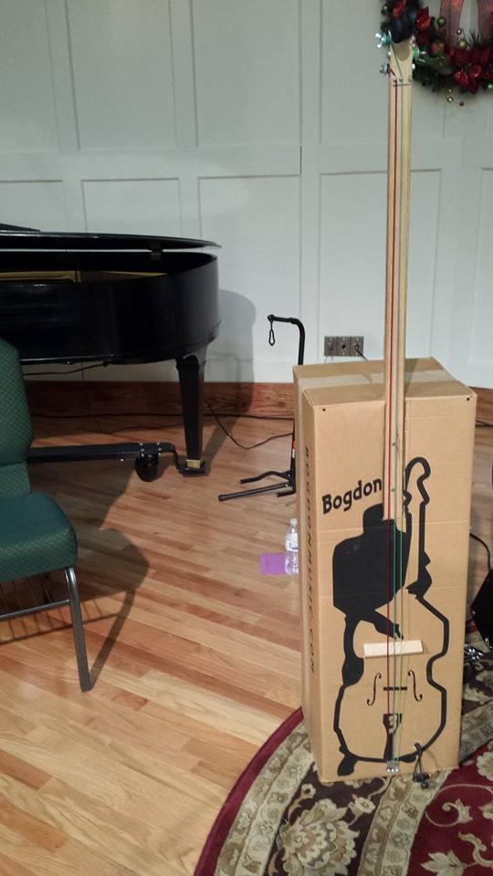 piano and box bass